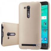 Чехол Nillkin Super Frosted Shield Asus ZenFone Go ZB452KG Gold