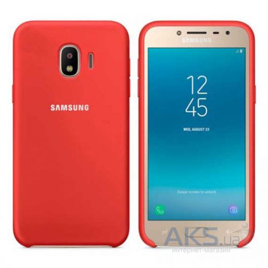 Чехол 1TOUCH silicone case Samsung J400 Galaxy J4 2018 Red