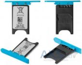 Держатель SIM-карты Nokia Lumia 800 Blue
