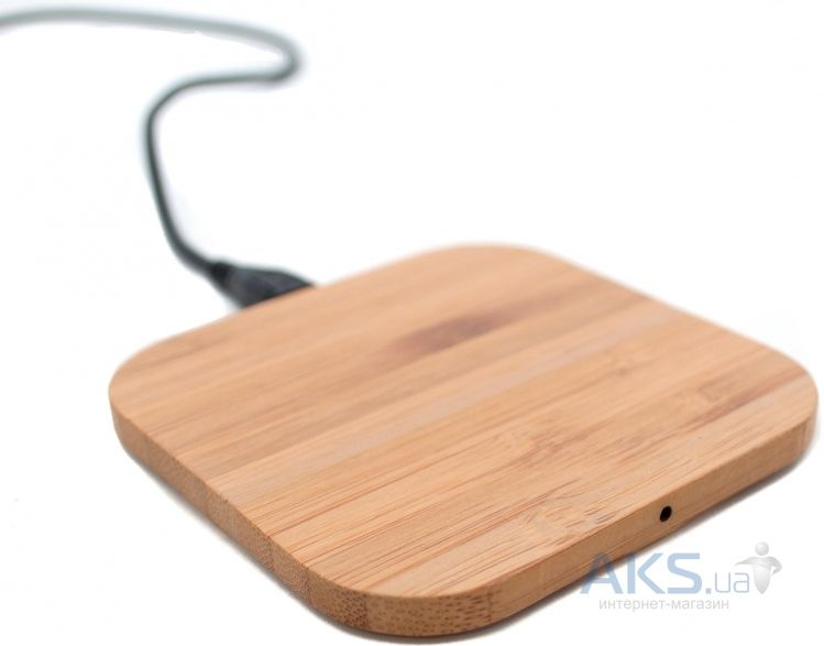 Зарядное устройство NICHOSI QI Wireless Charger Wood Style