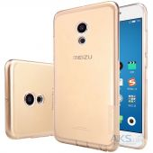 Чехол Nillkin Nature Series Meizu Pro 6, Pro 6S Transparent Gold