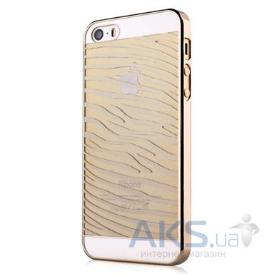 Чехол Vouni Glimmer Zebra Apple iPhone 5, iPhone 5S, iPhone 5SE Gold