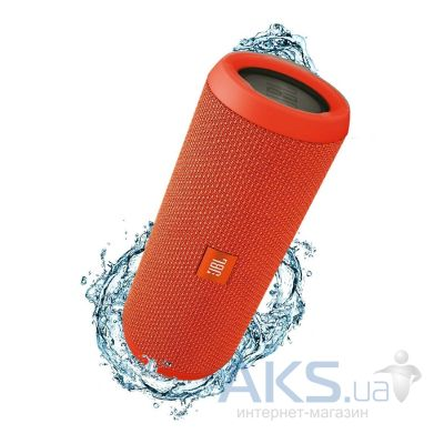 Колонки акустические JBL Flip 3 Splashproof Portable Orange (JBLFLIP3ORG)