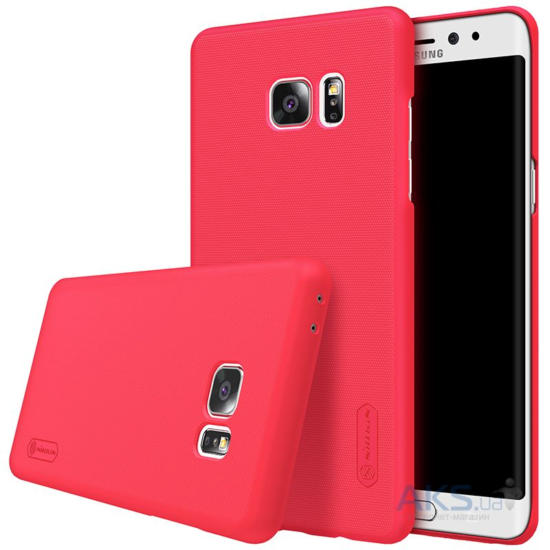 Чехол Nillkin Super Frosted Shield Samsung N930 Galaxy Note 7 Red