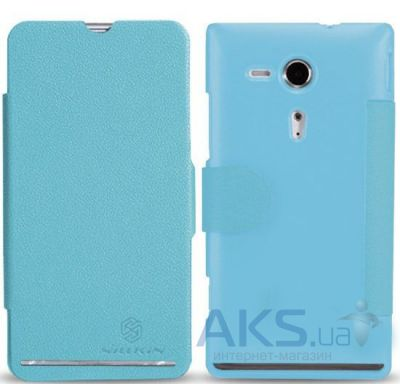 Чехол Nillkin Fresh Series для Sony Xperia SP C5303 M35i Blue