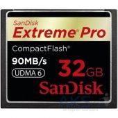 Карта памяти SanDisk 32Gb Compact Flash eXtreme Pro (SDCFXP-032G-X46/SDCFXPS-032G-X46)
