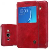 Чехол Nillkin Qin Leather Series Samsung J510 Galaxy J5 2016 Red