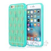 Чехол Incipio Design Series Apple iPhone 6 Plus, iPhone 6S Plus Arrow Teal  (IPH-1388-TEL-INTL)