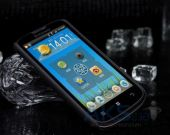 Вид 3 - Чехол Nillkin Super Frosted Shield Lenovo A800 Black