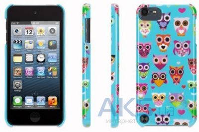 Чехoл Griffin Wise Eyes for iPod touch 5G Turquoise/Pink (GB36120)