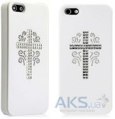 Вид 2 - Чехол Star5 Pure Love Series Angel Wings Apple iPhone 5, iPhone 5S, iPhone 5SE Silver (with Swarovski)