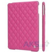 Чехол для планшета JisonCase Jison Case Quilted Leather Smart CaseiPad Air Pink [JS-ID5-02H35]