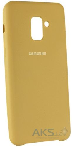 Чехол 1TOUCH silicone case Samsung A530 Galaxy A8 2018 Gold