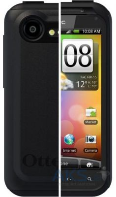 Чехол OtterBox Commuter Case for HTC Incredible S S710e (HTC4-INCD2-20-E4OTR) Black/Black