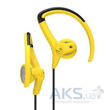 Наушники (гарнитура) Skullcandy CHOPS BUD Yellow/Black/Yellow (S4CHGZ-411)