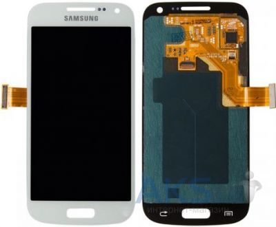 Дисплей (экран) для телефона Samsung Galaxy S4 mini I9190, Galaxy S4 Mini Duos I9192, Galaxy S4 mini I9195 + Touchscreen White