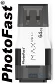 Гаджет PHOTOFAST i-FlashDrive MAX GEN2 USB3.0 64GB White (IFDMAXG264GB)
