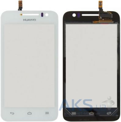 Сенсор (тачскрин) для Huawei Ascend G330D U8825D Original White