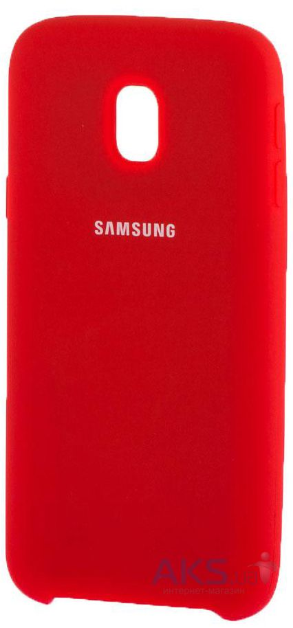 Чехол 1TOUCH silicone case Samsung J330 Galaxy J3 2017 Red