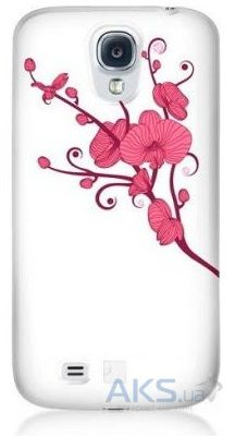 Чехол Bling My Thing Orchid Colour Samsung i9500 Galaxy S4 White with Pink (BMT-AS4-OD-WH-LRS)