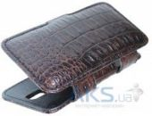 Чехол Sirius Sideflip Case для JiaYu JY-F1 Croco Brown