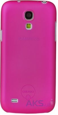Чехол Ozaki O!Coat 0.4 Jelly Pink for Samsung Galaxy S IV mini i9190 (OC705PK)