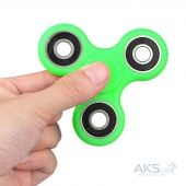 Спиннер Fidget Spinner Hand Tri-Spinner Pro-Speed Green