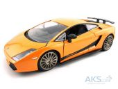 Автомодель Bburago Авто-конструктор LAMBORGHINI GALLARDO SUPERLEGERRA 2007,1:24 (18-25089)