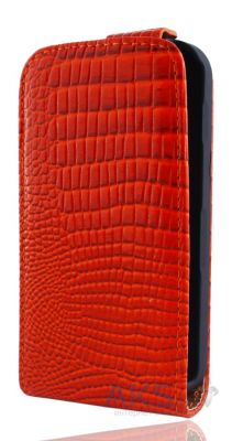 Чехол Atlanta Book case HTC One V T320e Red (K26)