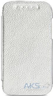 Чехол Melkco Book Leather Case for HTC Desire SV T326e White (O2DSSVLCFB2WELC)