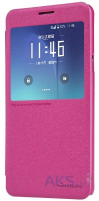 Чехол Nillkin Sparkle Leather Series Samsung N920 Galaxy Note 5 Pink