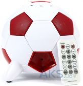 Вид 2 - Колонки акустические Speakal miSoccer (2.1 Stereo iPod Docking Station with 5 Speakers) Red (MISOCCER-RED)