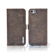 Вид 2 - Чехол REMAX Baroque Series Apple iPhone 5, iPhone 5S, iPhone 5SE Brown