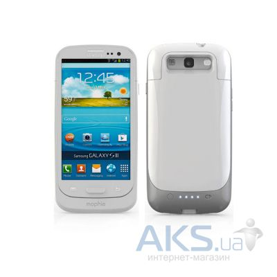 Внешний аккумулятор Mophie Juice Pack Air Galaxy SIII 2300 mAh White (MOP-2245)