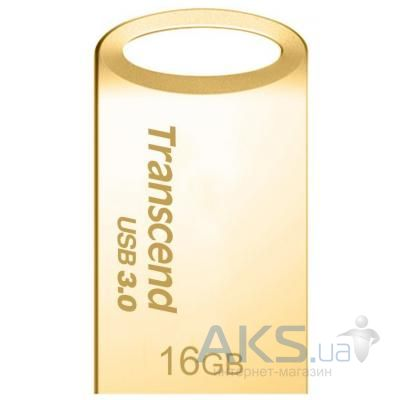 Флешка Transcend 16GB JetFlash 710 Metal Gold USB 3.0 (TS16GJF710G)