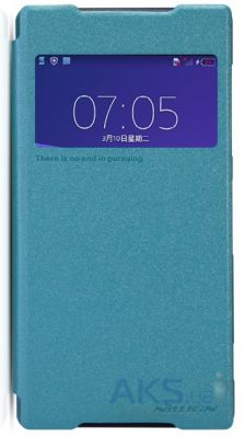 Чехол Nillkin Sparkle Leather Series Sony Xperia Z2 D6502 Blue