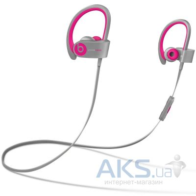 Наушники (гарнитура) Beats PowerBEATS 2 Wireless Pink/Grey (MHBK2ZM/A)