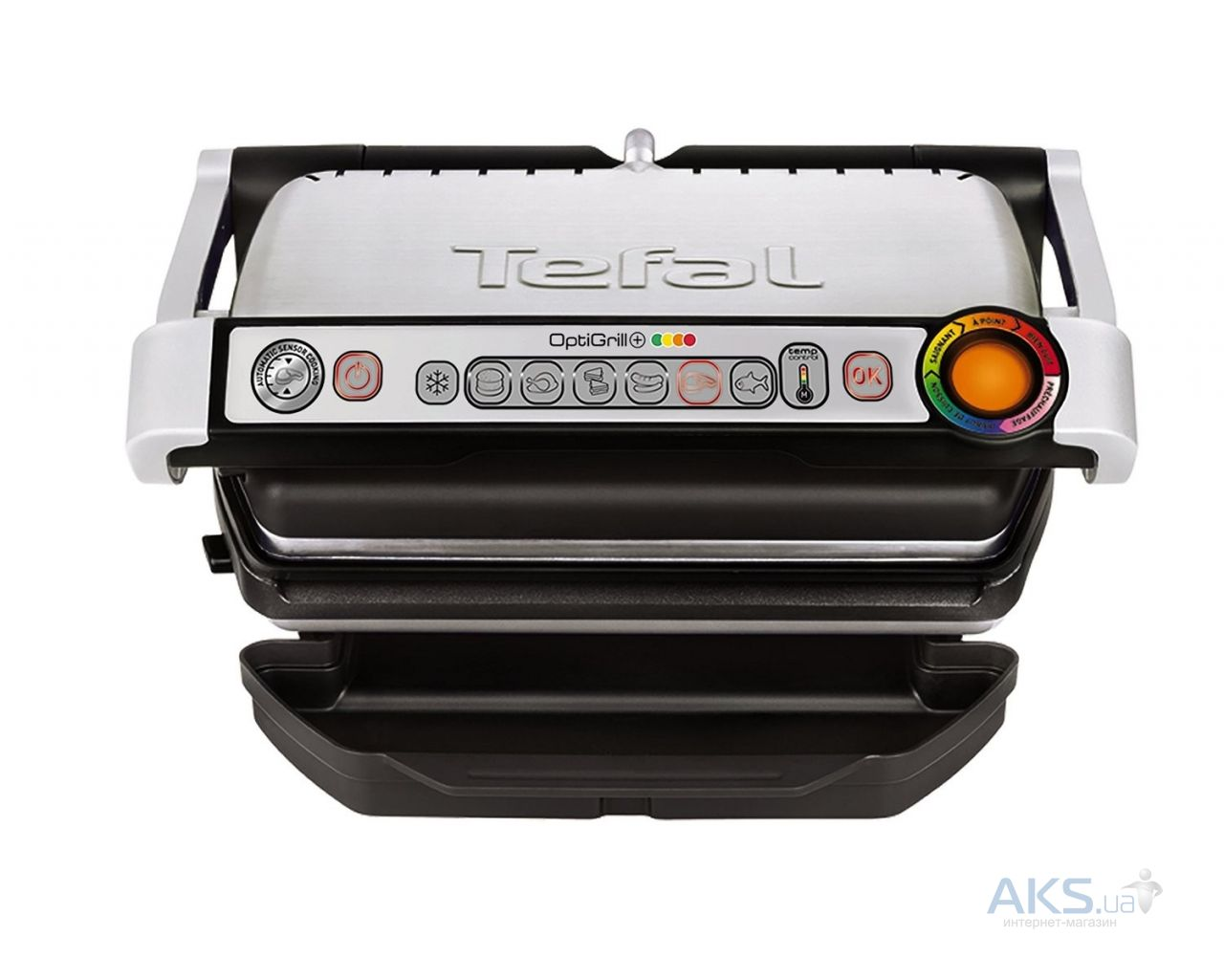 Вид 2 - Гриль Tefal 712D34 Optigrill Plus