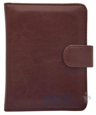 Обложка (чехол) Korka Red Wine (PBmini-Rich-pu-rw) для PocketBook Mini