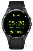 Умные часы SmartWatch KW88 Black with Black strap