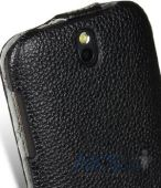 Вид 2 - Чехол Melkco Jacka leather case for HTC Desire SV T326e Black (O2DSSVLCJT1BKLC)