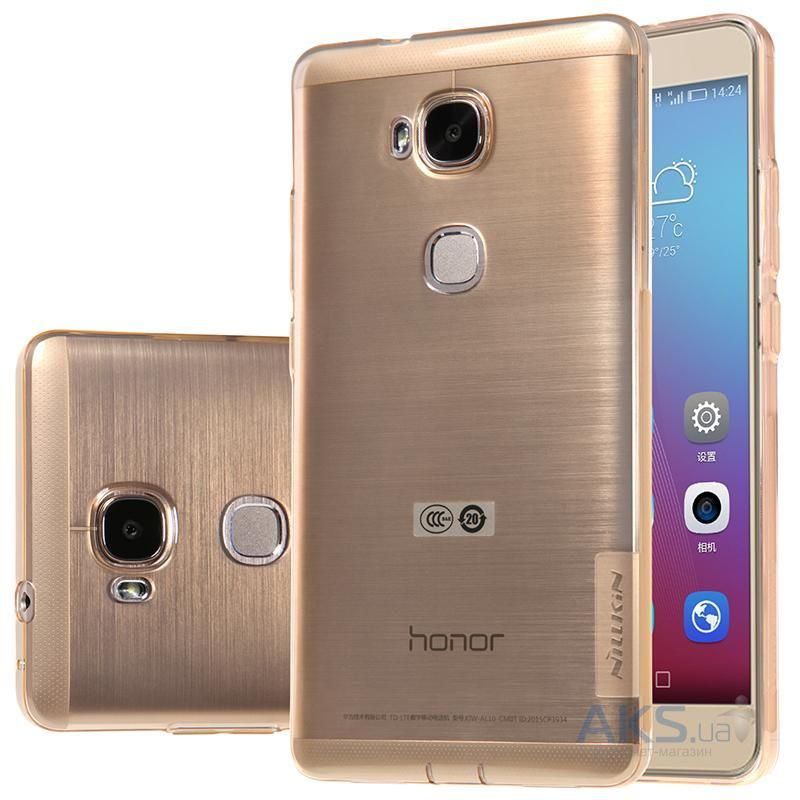 Чехол Nillkin Nature Series Huawei Honor 5X, Honor GR5 Transparent Gold