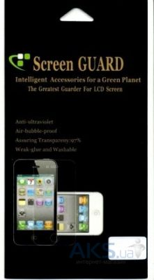Защитная пленка ScreenGuard Samsung B5722 Anti-Finger