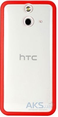 Чехол Rock Enchanting Series HTC One E8 Dual Red