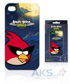 Чехол Gear4 Angry Birds Protective Case Space Bird Red Apple iPhone 4, iPhone 4S (ICAS401G)
