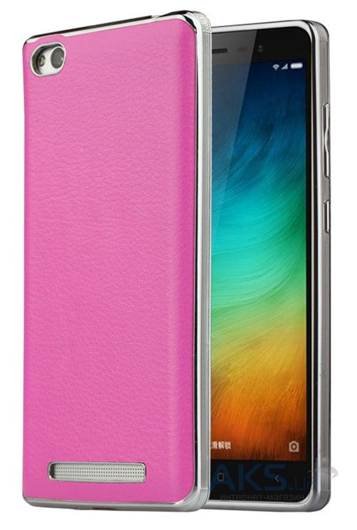 Чехол Slenky Buisness Leather Series Xiaomi Redmi 3 Pink