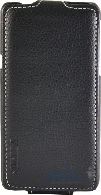 Чехол Carer Base Leather Flip Case for Huawei Honor 2 U9508 Black