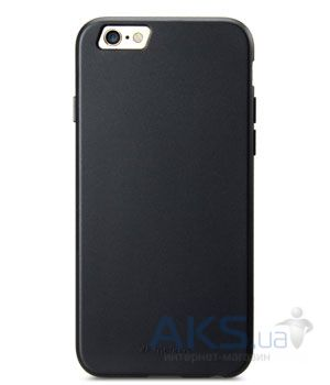 Чехол Melkco Poly Jacket TPU Cases for Apple iPhone 6/6S Black Mat (APIP6FTULT2BKMT)