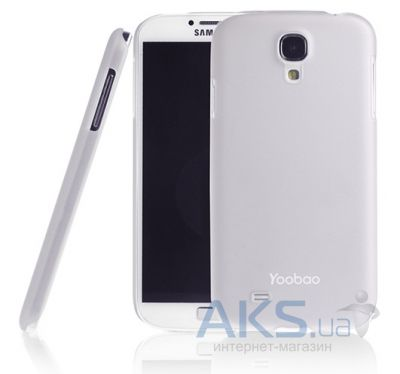 Чехол Yoobao Crystal Protect case for Samsung i9500 Galaxy S IV White (PCSAMS4-CWT)