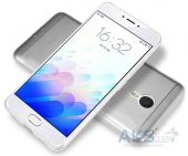 Вид 3 - Чехол Nillkin Nature Series Meizu M3 Note Transparent Gray